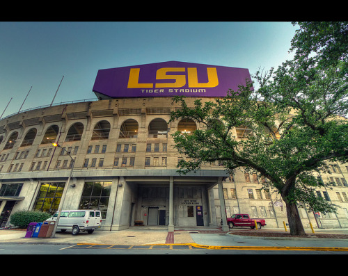 stadium-love-:  LSU's Tiger Stadium, a.k.a. Death Valley. by Jeremy  For James F. Causey