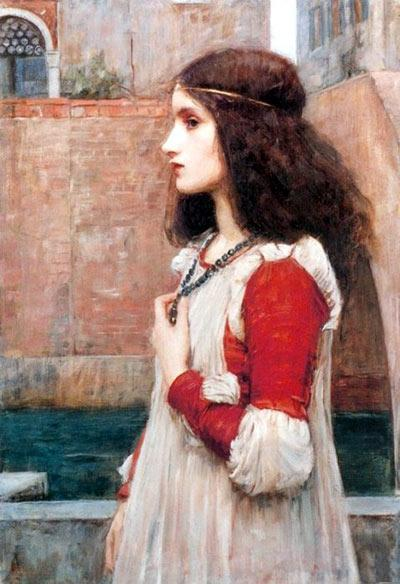 Juliet (1889) by John William Waterhouse