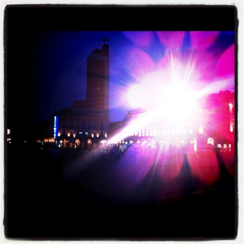 Soundcheck in Piazza Castello #mtvdays  (Taken with instagram)