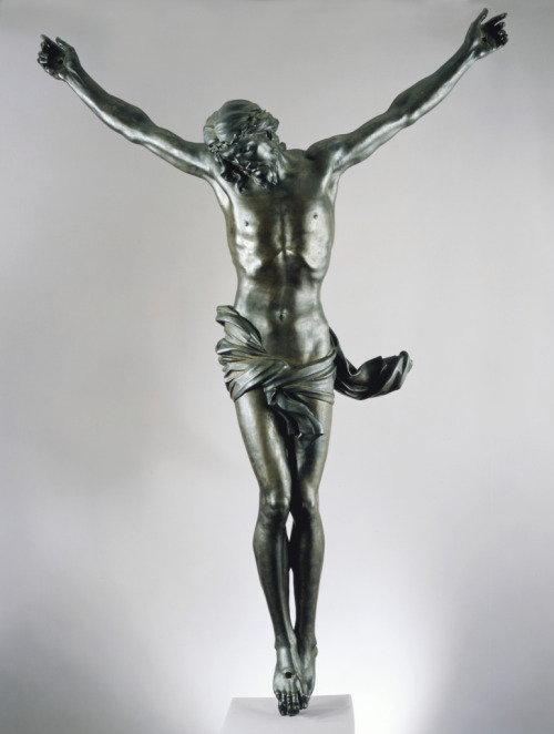 artgalleryofontario:  The Crucified Christ (Corpus), c. 1650 Gian Lorenzo Bernini (Italian) Sculpture, bronze, 174 cm Gift of the Murray Frum Family, 2006  This is the night