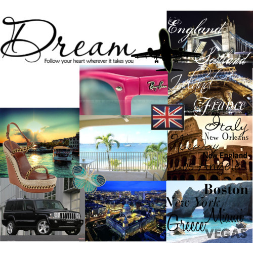 dream board by rockababy featuring butterfly jewelryChristian louboutin sandals, $249Dorothy Perkins butterfly jewelry, £3.25Simpson Bay vacation villa rental: Casa Carib, Luxury 2 Bedroom / 2…, $1,500Vintage Flag, United Kingdom, $999Dream follow your heart wherever it takes you vinyl lettering wall…, $10