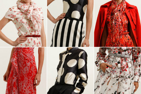 msmoksha:  Love these prints from Carolina Herrera Resort 2012  beautiful!