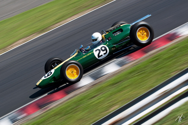 Team Lotus Type 25 by sherlylock on Flickr.Lotus Type 25 looking gorgeous at speed.