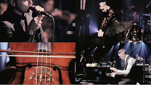 blood-noir:  MTV PUSH & ck one Party Events | HURTS live in Berlin (.mp4, 748x432px)Stay | Evelyn | Better Than Love Click on the links above to download the files :)  Thank you! :3