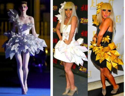Lady GagaDress by Thierry Mugler