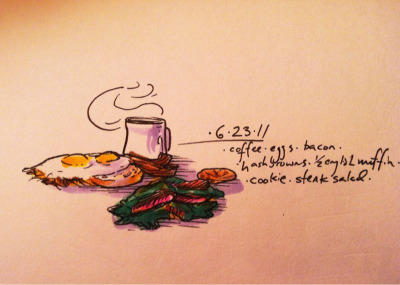 6/23/11 hashbrown heaven #doodlediet