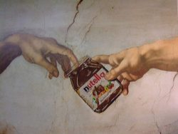 And God introduced to Adam….Nutella.