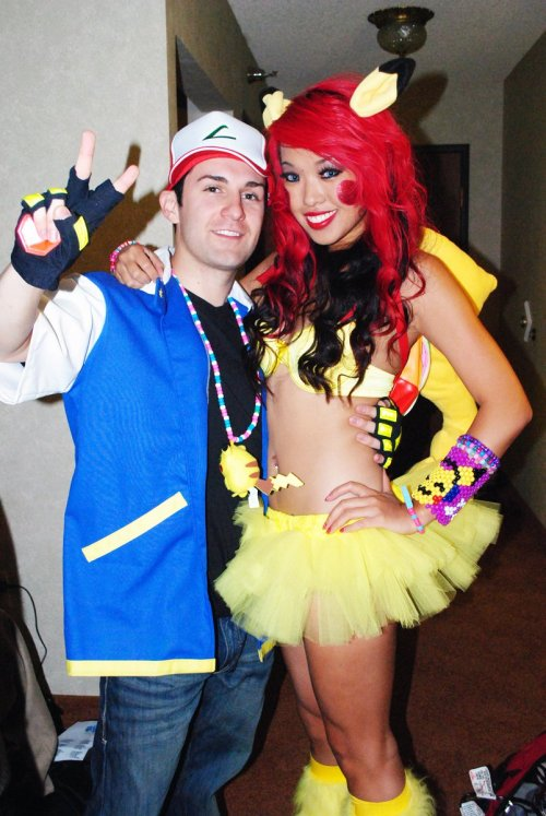 Pikachu loves Ash! <3 :) getting ready for EDC 2011!!!