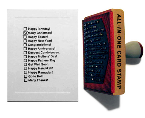 "rozanes:  ReCraft Your Stamp: All-In-One Card Stamp Why buy many cards for different occasions if you can have an ""One Card for All Occasions Stamp""? It saves time, money and headache.  ——————————————————————— Displayed on Recraft 