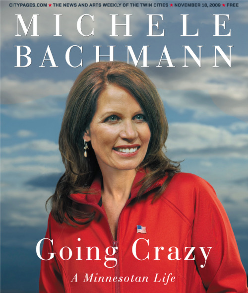 "whiporwill:  Bob Schieffer (CBS) called out Bachmann for her lies on ""Face The Nation."" She responds by blaming Obama.   SCHIEFFER: I want to ask you about something else. A lot of your critics say you have been very fast and loose with the truth. You know, the po— PolitiFact, which is a website that won a Pulitzer, did an analysis of twenty-three statements that you made recently. Of these twenty-three, only one they said was completely true. Seven they call pants on fire kind of falsehoods. Four were barely true and two were half truths. How do you answer that criticism? Because here's one of them, you know, you said on the record there had been only one offshore oil drilling permit during the Obama administration and, in fact at that time they had been two hundred and seventy. How do you explain that? BACHMANN: Well, you know, I think that what is clear more than anything is the fact that President Obama does — has not been issuing the permits, that he should have been issuing on offshore drilling that's— SCHIEFFER: Well, it's more than three hundred now. BACHMANN: Well — SCHIEFFER: At— at that time there had been two hundred and something. And you said there had been only one. BACHMANN: But as far as drilling goes, we hadn't been drilling what we need to— that's why we just this week— SCHIEFFER (overlapping): But that's different, isn't it?   Oh look! People are finally starting to realize how absolutely insane listening to this woman is!"
