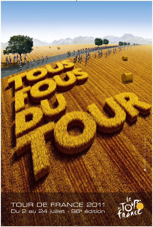 le tour de france - 98th edition, July 2 - 24, 2011