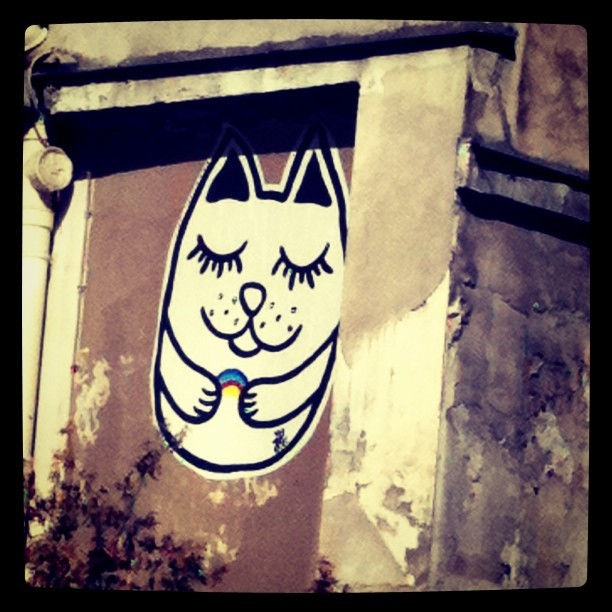 In the street of Paris… (Taken with instagram)