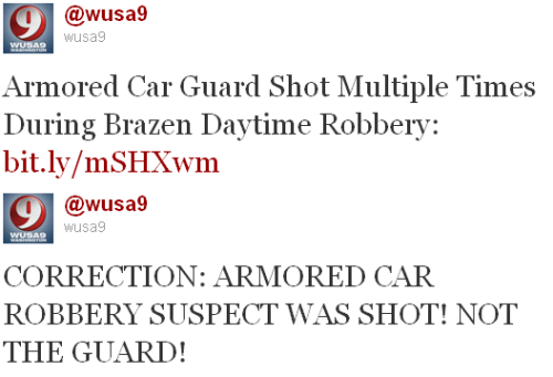 WUSA:  WASHINGTON, DC (WUSA) — An armored car robbery suspect was shot Thursday morning in Northeast during an attempted robbery. Police are looking for other suspects say tried to rob the truck around 11 a.m. in the 200 block of Michigan Ave., Northeast. Sources tell 9NEWS NOW the suspect was shot multiple times and has been transported to Medstar with life-threatening injuries.