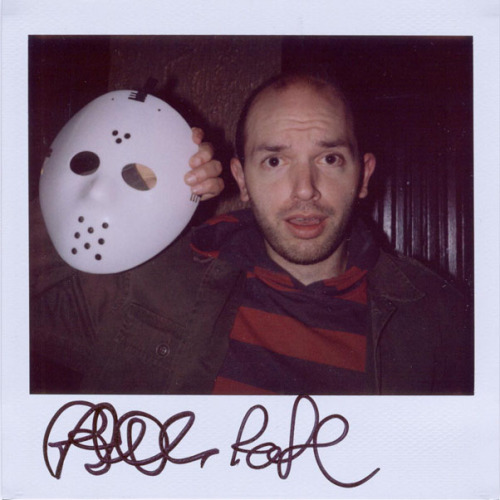 Paul Scheer - Because he's doing a live NTSF:SD:SUV show tonight at Marines Memorial Theatre in San Francisco along with CHILDRENS HOSPITAL sponsored by SF Sketchfest and Adult Swim. GO SEE IT!!