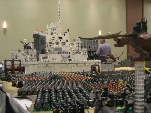 LEGO MIddle Earth (via Middle-Earth Is Now Officially Lego Earth - Topless Robot)