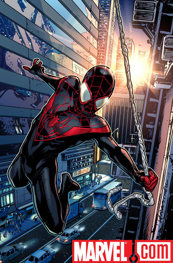 the design for the new Ultimate Spider-Man
