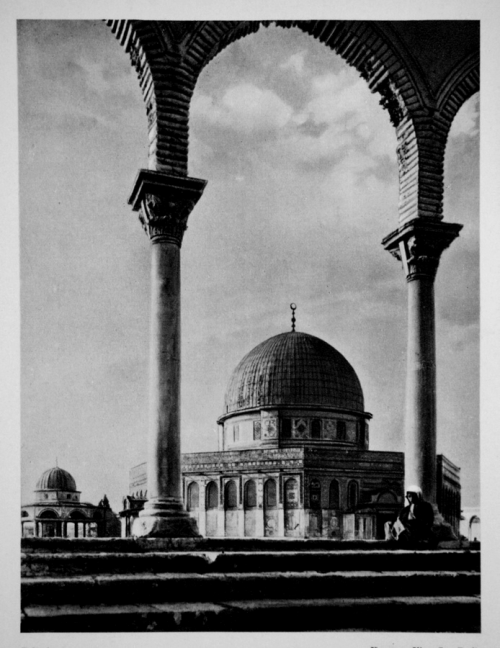 Mosque of Omar, Jerusalem, 1920s