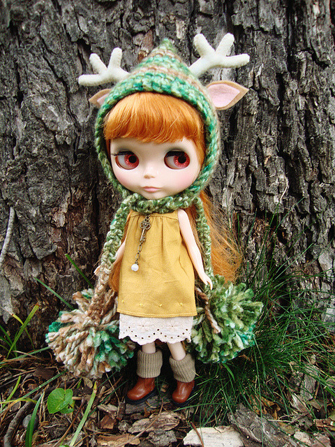 Plummery in forest deer hat by maidensuit on Flickr.