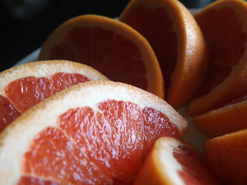 pink grapefruit.
