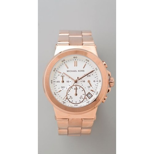Michael Kors watch (see more michael kors watches) Rose gold is wayyyy cooler than gold. Period. End of story.