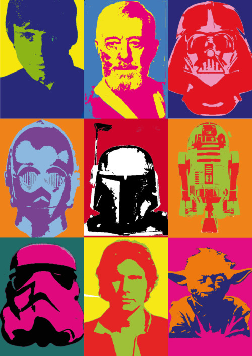 Star Wars Warhol