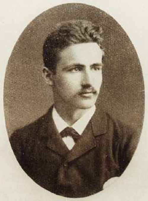 German dramatist, and author of Spring Awakening, Frank Wedekind, 1883 Submitted by skellytone