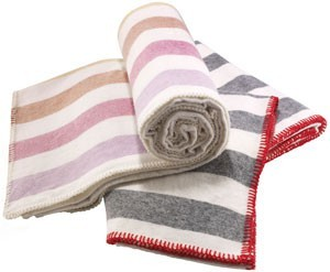 {lovely} striped throws