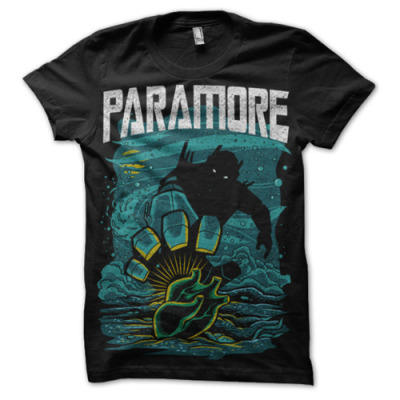 Turning Into A Monster // fueledbyramen: Check out the new Paramore shirt… on We Heart It. http://weheartit.com/entry/11421208