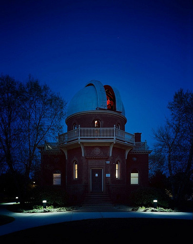Ladd Observatory during twilight. Nice place to see the stars :)