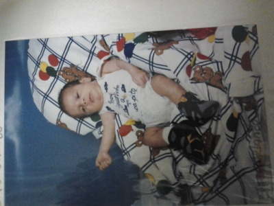 Yes that bordeaux swagg even as a baby