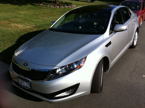 2011 Kia Optima EX Kia hit another home run with the Optima. This weeks test car is the 4 cylinder model that delivers 24 MPG city and 34 MPG highway.