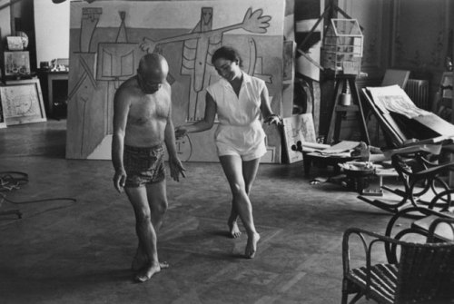 workspaces:  Picasso in his studio | via andrewharlow