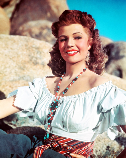 "Rita Hayworth in ""The Loves of Carmen"" 1948"