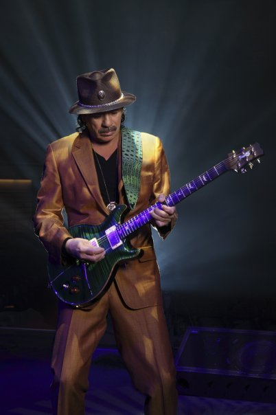 Carlos Santana  by Maryanne Bilham Knight