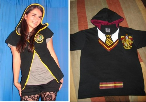 Two Harry Potter robe-like shirts: number one, and number two.