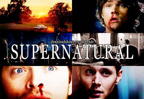 biberoni:  10 reasons to watch Supernatural: It's summer. Being outside? Overrated. Being inside staring at hot guys with guns who occasionally cry? Just what you need. (And if you're in Australia and it's winter, well… same thing applies.) You didn't really feel like going to sleep anyway. Now you won't have to. Not just because you'll be staying up all night watching this, but also because you'll be afraid to go to sleep. Win/win. You'll get a whole new relationship with salt. You think salt is bad for you? Think again. Salt will save your life. Jensen Ackles. Jared Padalecki. Misha Collins.  Homoerotic subtext. Tons of it. Hot car. Rock music. Guns. Blood. It's like eating a pie of delicious hardcore.  You'll finally understand your dash! You really - no, I mean it - you really want to feel like someone ripped your heart out and trampled all over it. It's such a wonderful feeling. And this show? Does it well. PIE. Did I mention the car? Okay, though, all joking aside, this show is wonderful. I was going to write a long post about snassy lines and sarcasm, manpain and hurt, gayness and love for food, shit that will scare your pants off and shit that will make you laugh, about the writing and the humour and the references, and how the show has so much bamf it's almost falling over. However, I don't think I will be able to do it justice. So, just watch it.  Read more: CW | IMDb | tv.com | Wiki