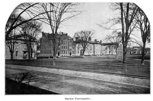 Brown University 1899 by Providence Public Library on Flickr.