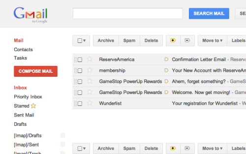 The new Gmail interface is being rolled out and it is mighty sweet!  Oh, and they launched some Google+ something or other.