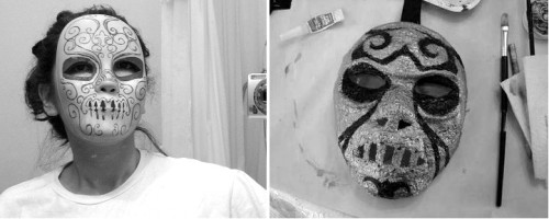 Planning to don the Death Eater mask? Here are two tutorials: 1) modeled after Bellatrix, and 2) mask using plaster & paint. Make sure to add that Dark Mark, too!