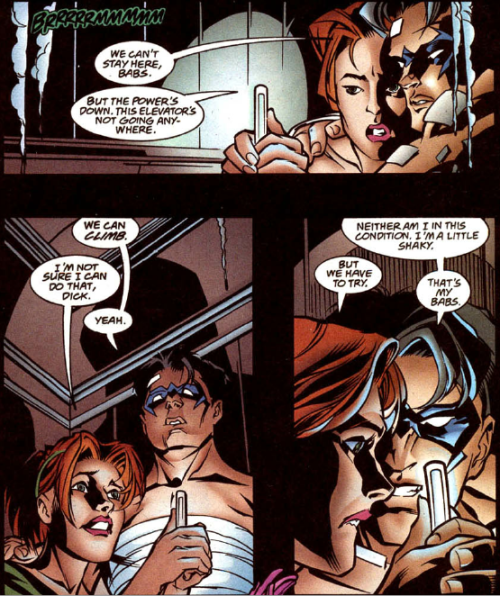 That's my Babs. Nightwing #39