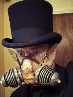 steampunkgentlemen:  Steampunk Bad Air Transmutator by Tom Banwell on Flickr.