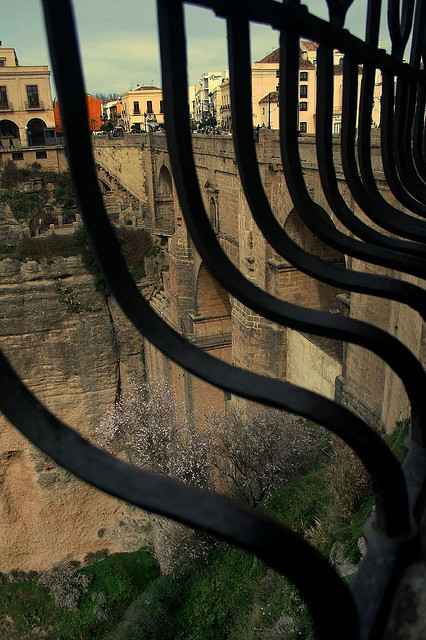 | ♕ |  To Keep from Falling - Ronda gorge, Spain  |  by Andrew E. Larsen