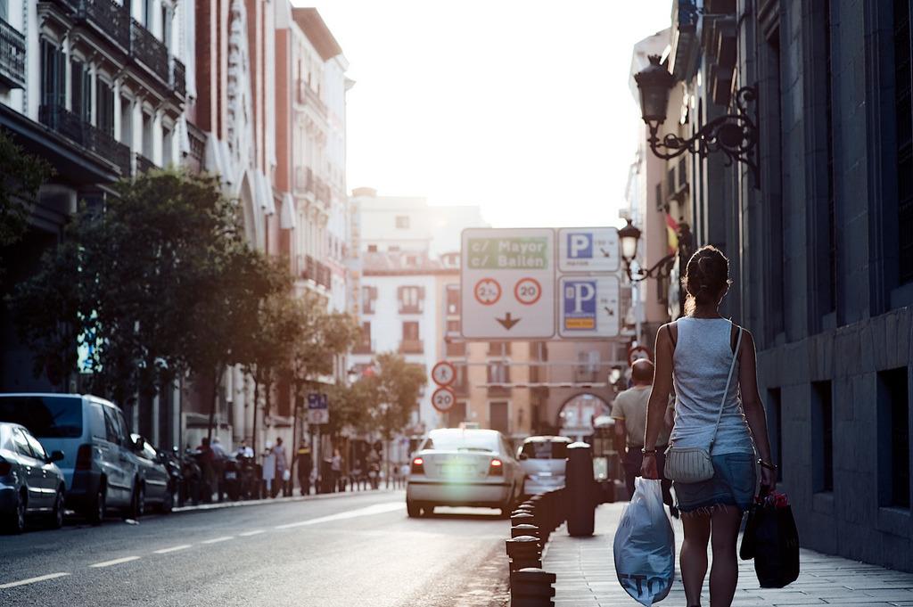 Madrid, late afternoon