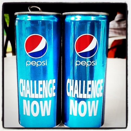 Новые pepsi давно? (Taken with instagram)
