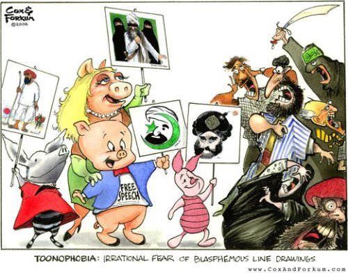 TOONOPHOBIA: IRRATIONAL FEAR OF BLASPHEMOUS LINE DRAWINGS