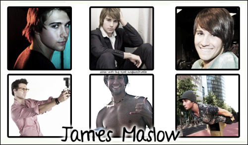 satan-with-bug-eyed-sunglasses:  6 pics meme: James Maslow