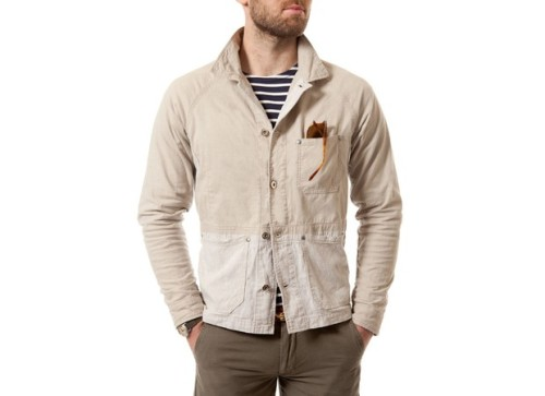 Apolis- French Linen Work Jacket via Y.H.B.T.I
