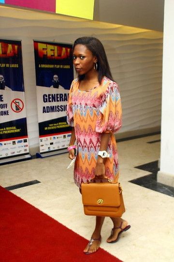 Ire rocking a pair of Maju sandals and a Maju purse!