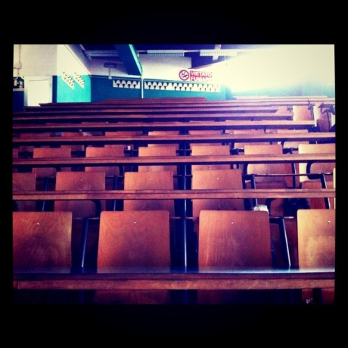 Torino.Un'aula del Dams. #mtvdays  (Taken with instagram)