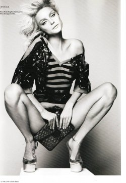 Expression is Vital / i-D Magazine  / Jessica Stam